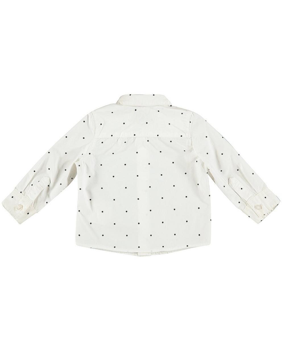 Hemden - Weiss - Weißes Hemd mit Fliege